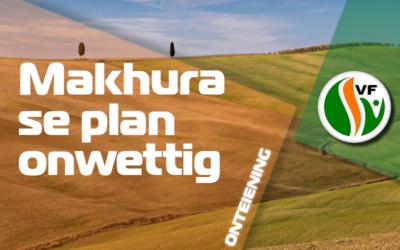 Makhura se plan met grond in Gauteng is onwettig