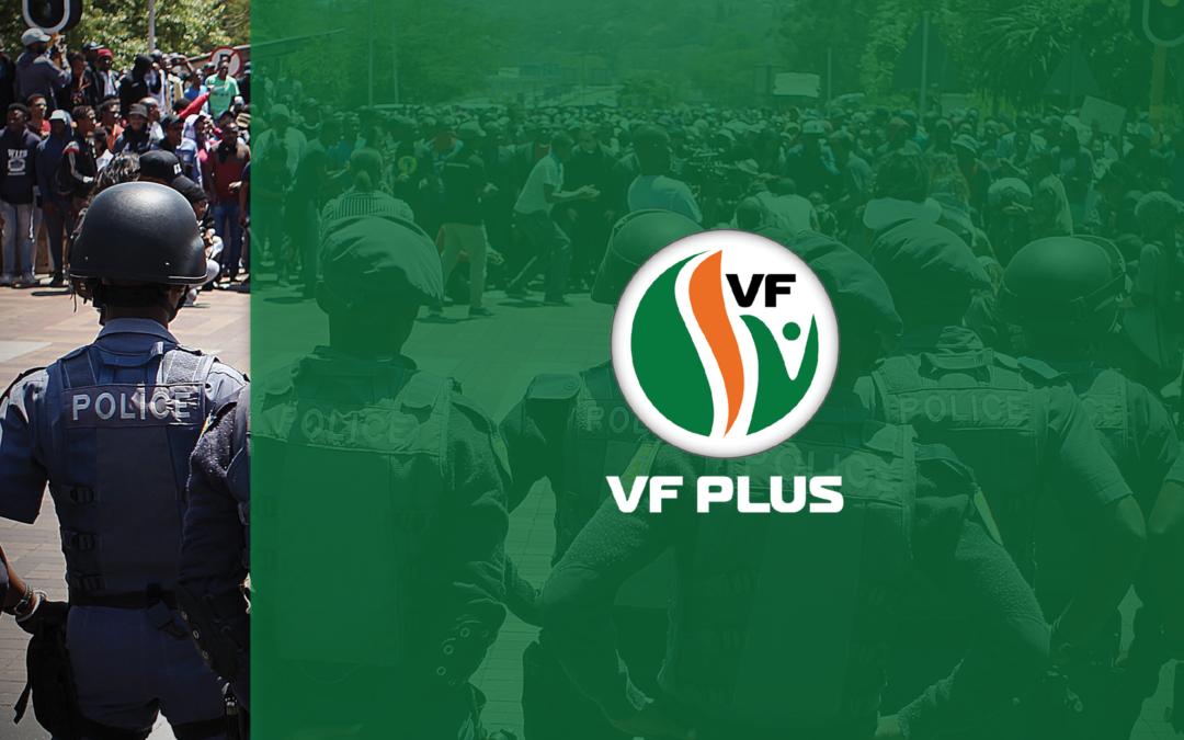 Schweizer-Reneke / Hoërskool Stilfontein: wys VF Plus se wetsontwerp om betogings voor skole te verbied, is dringend nodig
