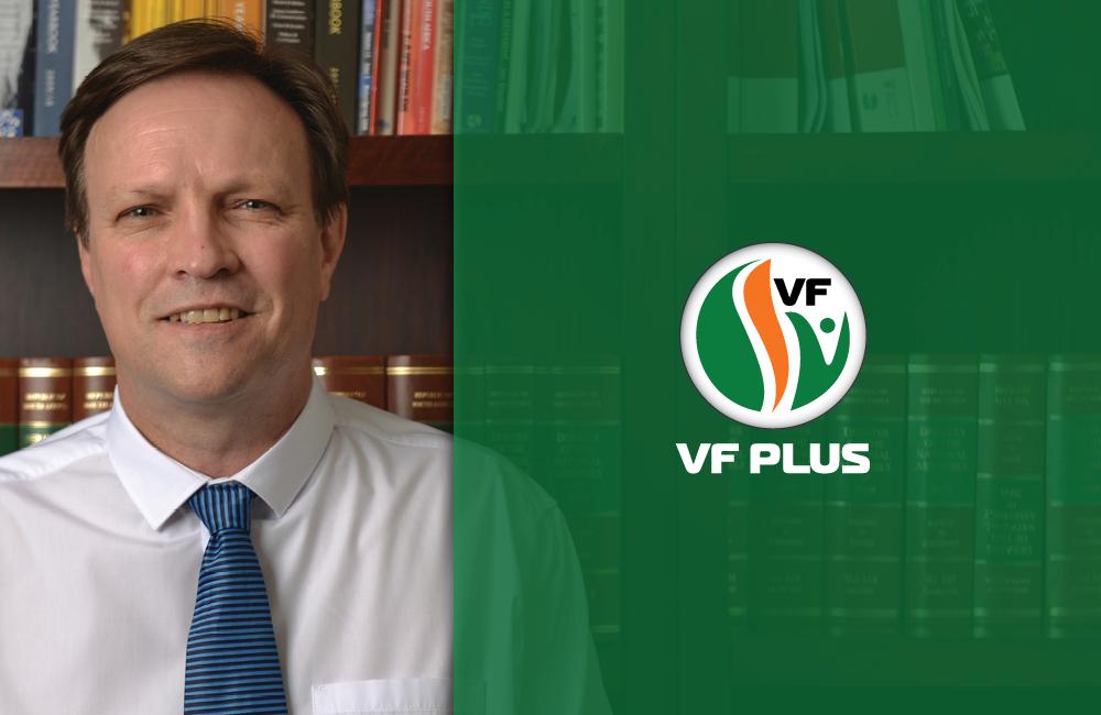 Adv. Anton Alberts is VF Plus se premierskandidaat vir Gauteng