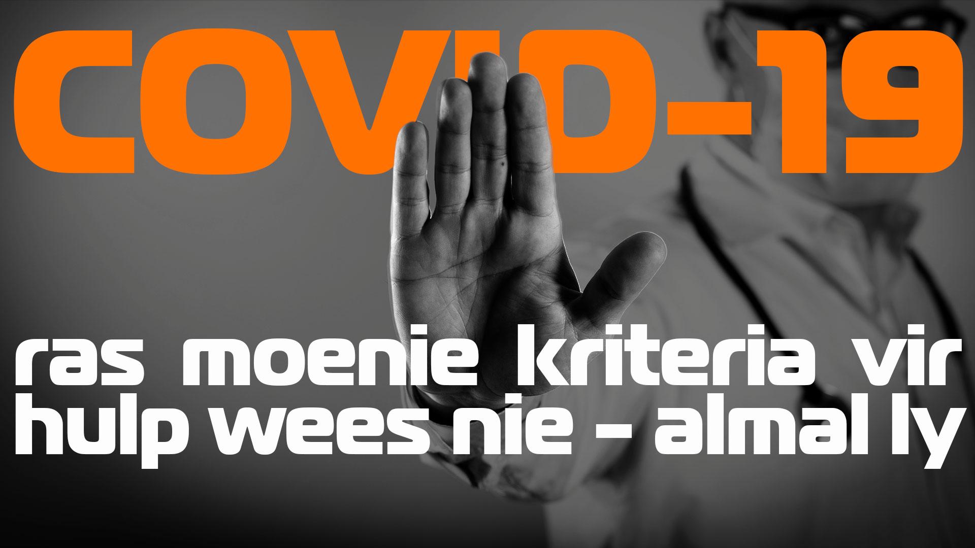 COVID19 WEBSITE PRENTJIE AFRIKAANS VRYHEIDSFRONT